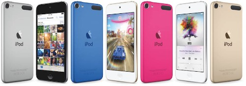 Apple Launches A8-Based iPod Touch With 8MP Camera, Adds New Nano and Shuffle Colors