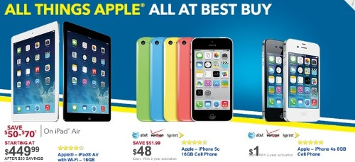 Target, Walmart and Best Buy Offering Black Friday Deals on Apple Products