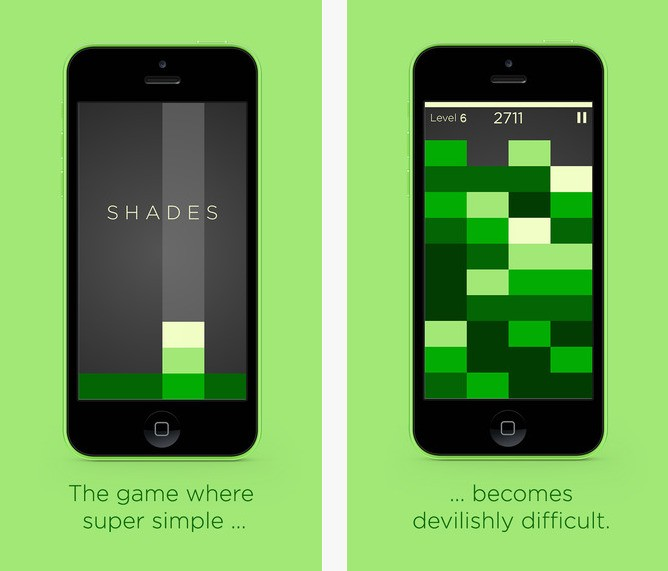 Tetris-Like Puzzle Game 'Shades' Named Apple's Free App of the Week