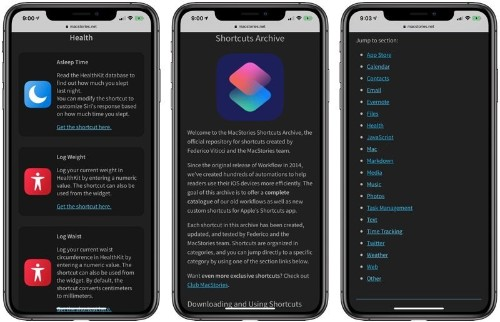 MacStories Shares Useful Collection of 150 Custom iOS Shortcuts