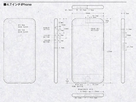 iPhone 6 Renderings Based on Leaked Schematics Highlight Larger Displays