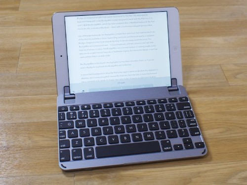 Review: Brydge Debuts Smaller 'BrydgeMini' Keyboard for Older iPad Mini Models [Updated]