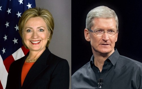 Tim Cook Was Named to Hillary Clinton's List of Vice Presidential Candidates