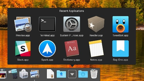How to Add a Recent or Favorite Items Stack to Your Mac's Dock