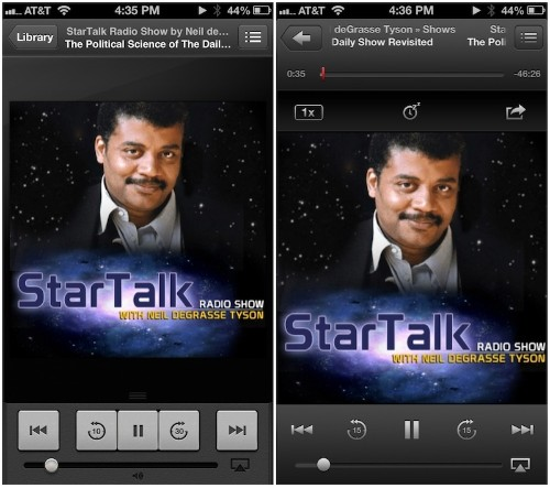 Apple Updates Podcasts iOS App With Custom Stations, Playlists, and iCloud Syncing