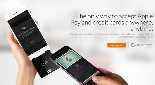 Apple Partners With PayAnywhere for Universal Apple Pay Card Reader
