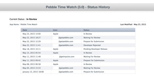 Pebble Time iOS App in Limbo, Pebble Asks Customers for Help