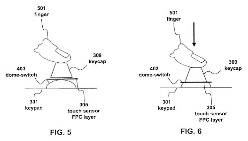 Apple Patents Hybrid Keyboard With Touch-Sensitive Mechanical Keys