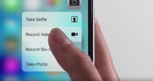 No 3D Touch for iPad Air 3 Due in First Half of 2016, iPhone 7's 3D Touch Tech Similar to iPhone 6s