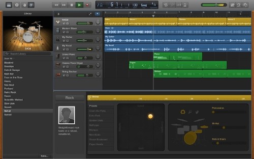GarageBand for Mac Updated with MP3 Export, New Drummers, and More