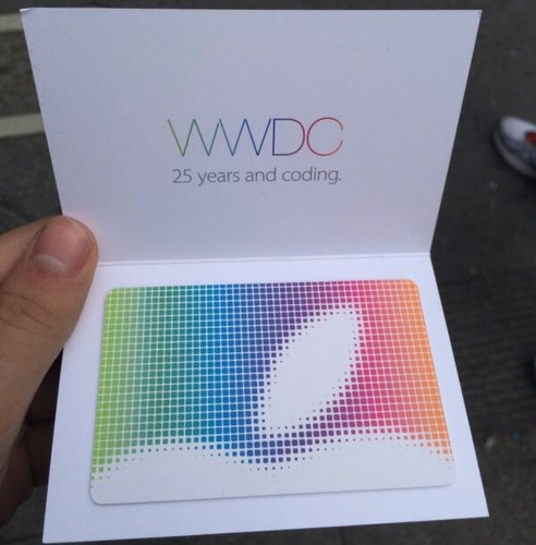 Apple Giving $25 App Store Gift Certificates to WWDC Attendees