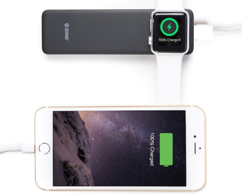 ZENS Launches Power Bank for Simultaneous Apple Watch and iPhone Charging