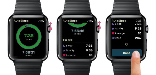'AutoSleep 5' Brings Live Sleep Tracking to Apple Watch and iPhone X Support