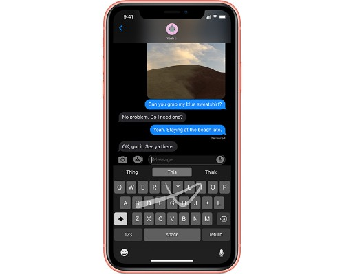 How to Use the QuickPath Swipe Keyboard on iPhone and iPad