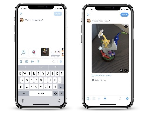 Twitter 'Taking Cues' From Snapchat and Testing Update That Makes the Camera More Accessible