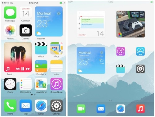 Home Screen Widget 'Blocks' Imagined in New iOS Concept