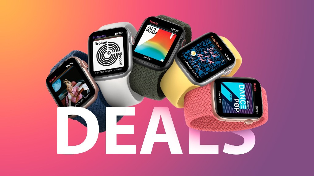 Deals: Apple Watch Series 6 and SE Discounted by $50, Starting at $230 for 40mm GPS SE