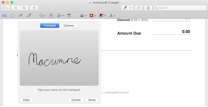 How to Electronically Sign a PDF Using Preview on Mac