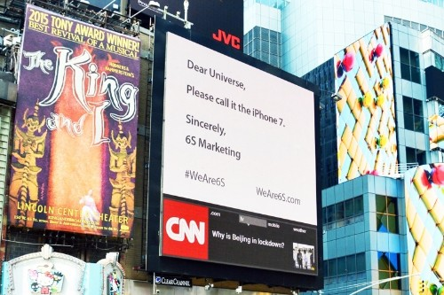 '6S Marketing' Ad Agency Asks Apple to Rename 'iPhone 6s'