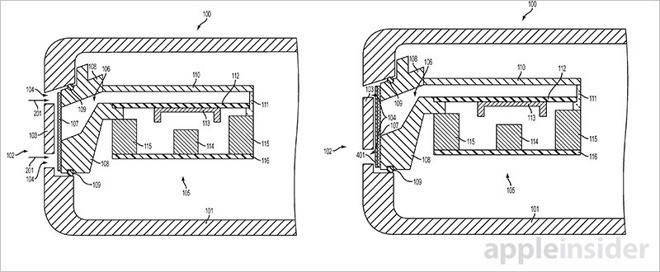 Apple Patents Water-Resistant Speaker Port and Bone Conduction Earbuds