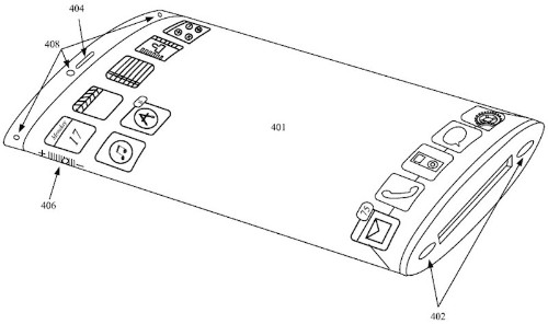 Apple Granted Patent For iPhone With Wraparound All-Glass Display