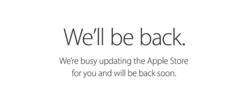 Apple Store Down Ahead of iPhone 6 and 6 Plus Pre-Orders