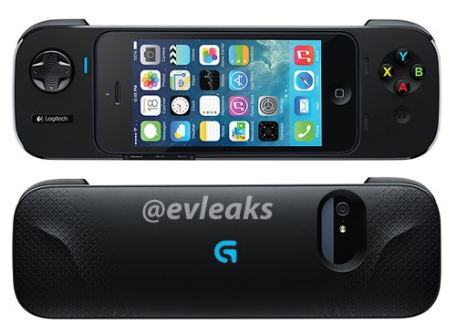 Image of Logitech iPhone Game Controller Leaked