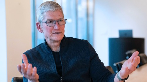 Tim Cook: The Ethos and DNA of Apple 'Have Never Been Stronger on the Innovation Front'