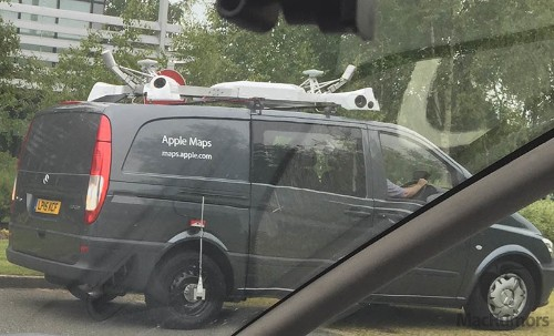 Apple Maps Vehicles Begin Surveying England, Coming to New Orleans Next Month