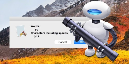 How to Set Up a System-Wide Word Count Service on Your Mac