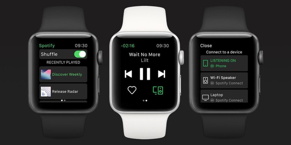 Apple Watch Now Supports Standalone Spotify Streaming