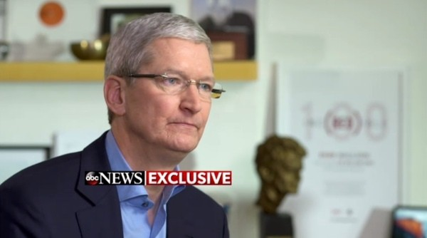 Apple CEO Tim Cook: FBI's Backdoor Would Be 'Software Equivalent of Cancer'