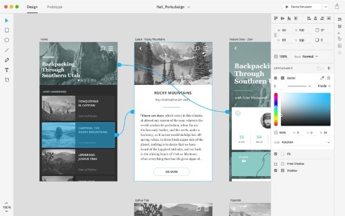 Adobe Announces New 'Adobe XD' Creative Cloud App for End-to-End UX Design