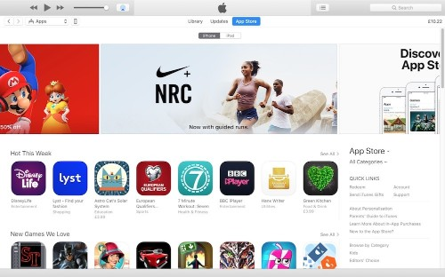 Apple Quietly Releases iTunes 12.6.3 With Built-In App Store