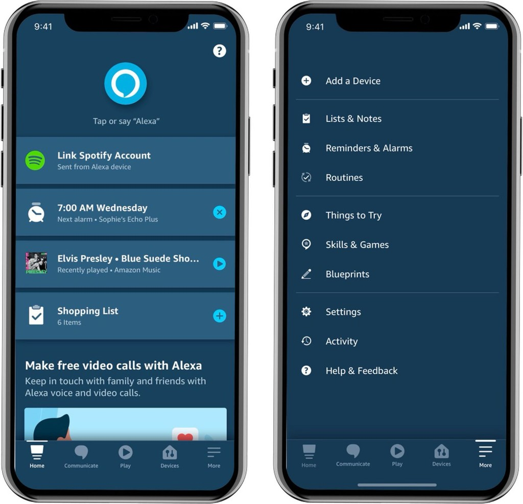 Amazon Debuts Revamped Alexa App That's Rolling Out to iOS Users Soon
