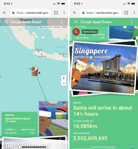 How to Track Santa's Journey Today on iPhone and iPad