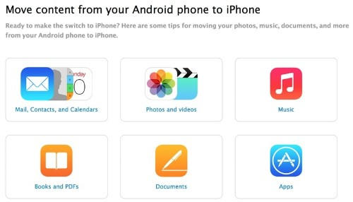 Apple Launches Guide for Android Users Switching to iPhone