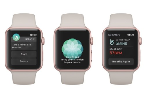 watchOS 3: Bringing Attention Back to Apple's New 'Breathe' App
