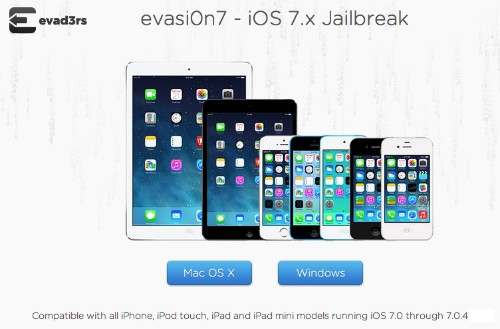'Evasi0n' Untethered Jailbreak Updated for Newer iPhones, iPads and iOS 7.x [Updated]