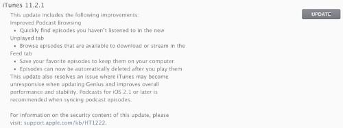 Apple Releases 11.2.1 iTunes Update to Fix Hidden '/Users' Folder Bug