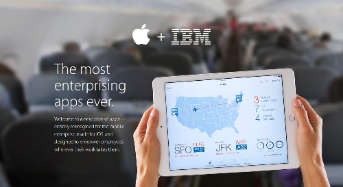 Apple and IBM Introduce Ten Business-Focused 'IBM MobileFirst' iOS Apps