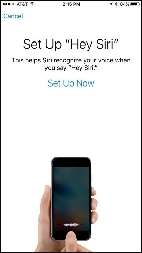 Apple's 'Hey Siri' Feature in iOS 9 Uses Individualized Voice Recognition