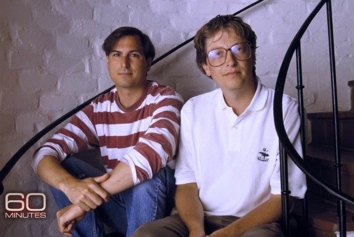 An Emotional Bill Gates Talks About Steve Jobs on '60 Minutes'