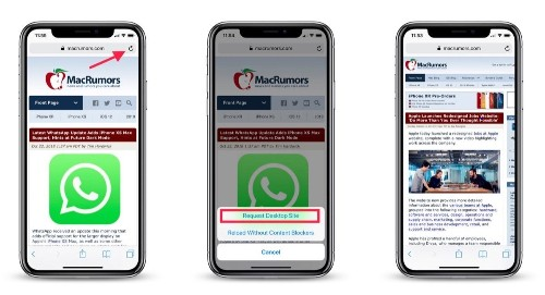 How to View the Desktop Version of a Website on Your iPhone and iPad