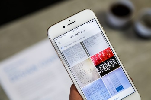 Adobe Scan Gains Automatic Document Detection, iOS 11 Files Support