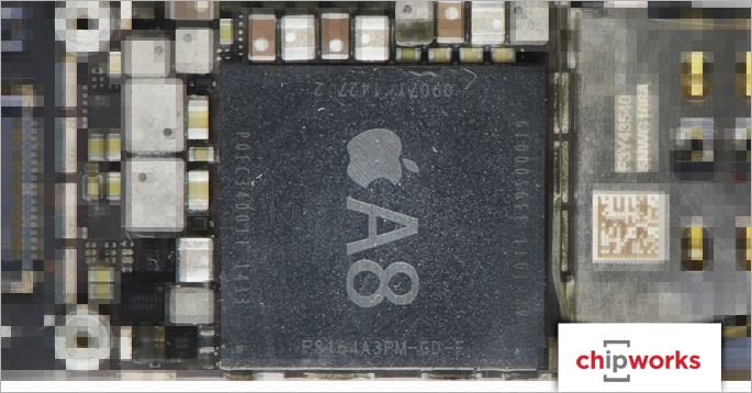 iPhone 6 and 6 Plus Use 20-Nanometer A8 Processor From TSMC
