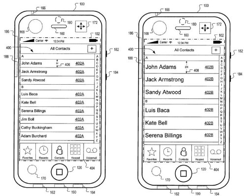 Apple Details iOS User Interface That Compensates for Device Motion