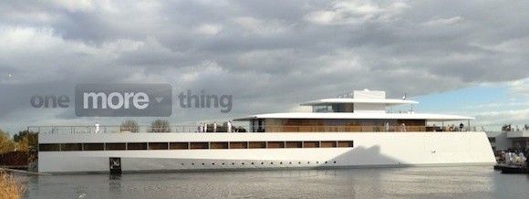 Steve Jobs' Yacht 'Venus' Launched in the Netherlands