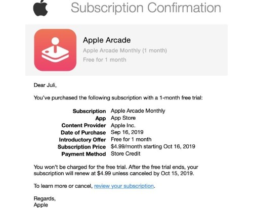 Apple Arcade Launches Early for Some Users