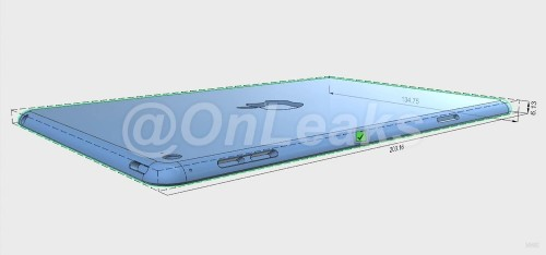iPad Mini 4 Again Rumored to Be Smaller Version of iPad Air 2 in New Design Renders